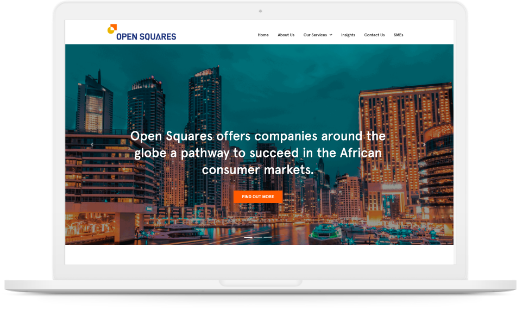 Open Squares website